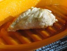 鶏むね肉とオクラの胡麻ポン和え 調理②