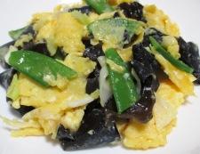 卵とキクラゲのさっぱり炒め 調理⑥