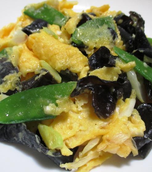 卵とキクラゲのさっぱり炒め 大