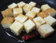 絹揚げの雷豆腐風 調理⑤