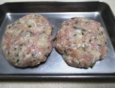 レンコン鶏つくねバーグ 調理②
