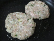 レンコン鶏つくねバーグ 調理③