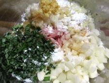 レンコン鶏つくねバーグ 【下準備】②