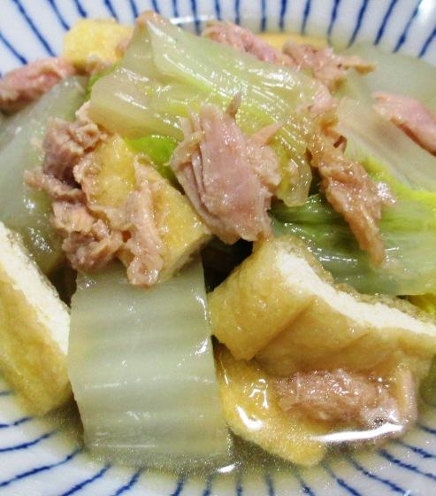 ツナ白菜 B