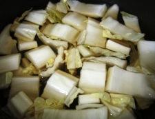 ツナ白菜 調理①