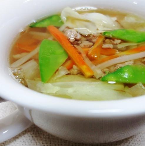 そぼろスープ B