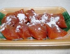 秋鮭と茸のガーリック照り焼き 調理①