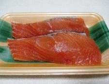 秋鮭と茸のガーリック照り焼き 材料①