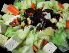 豆腐のホイコーロー風 調理⑤