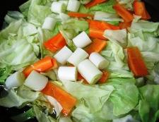 豆腐のホイコーロー風 調理①