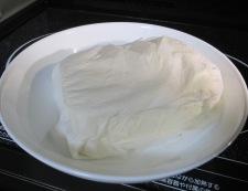 豆腐のホイコーロー風 【下準備】①
