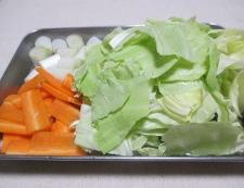 豆腐のホイコーロー風 【下準備】②