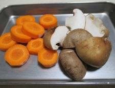 白菜としいたけの柚子こしょう煮 【下準備】②