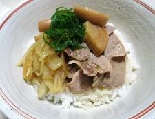 豚丼 調理⑥