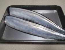 秋刀魚の佃煮 材料①