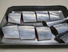 秋刀魚の佃煮 【下準備】①