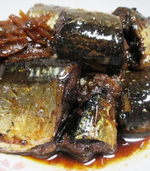 秋刀魚の佃煮 B