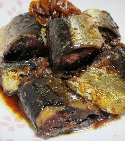 秋刀魚の佃煮 大