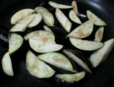 ナスと炒り卵の中華風甘味噌煮 調理②
