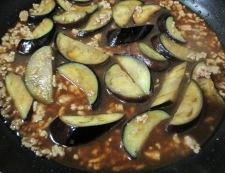 ナスと炒り卵の中華風甘味噌煮 調理④