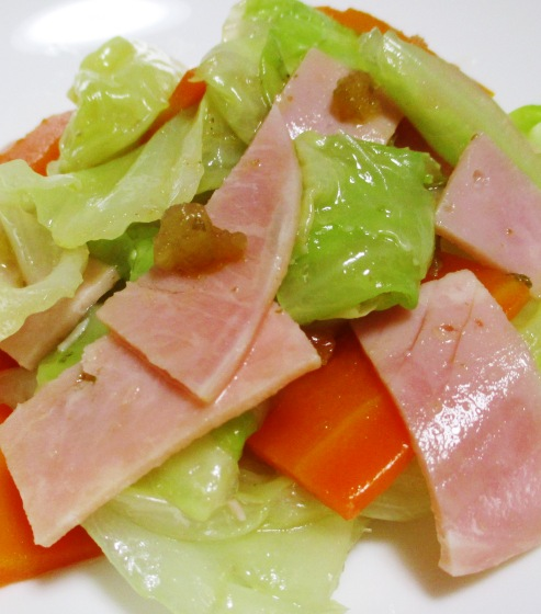ハムキャベツサラダ B