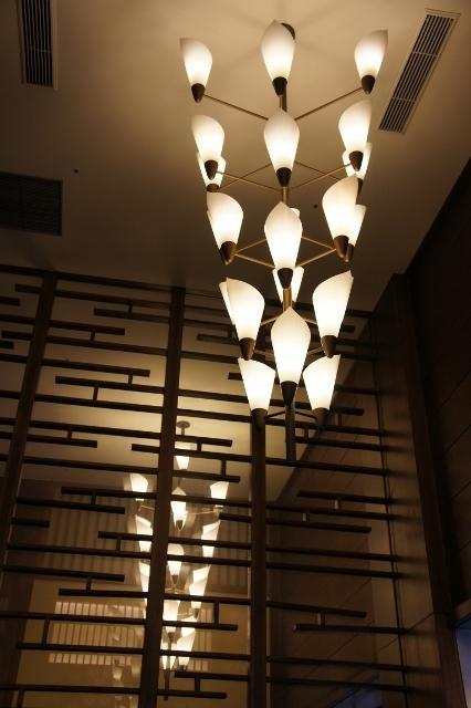 ホテルオークラ 藤の花