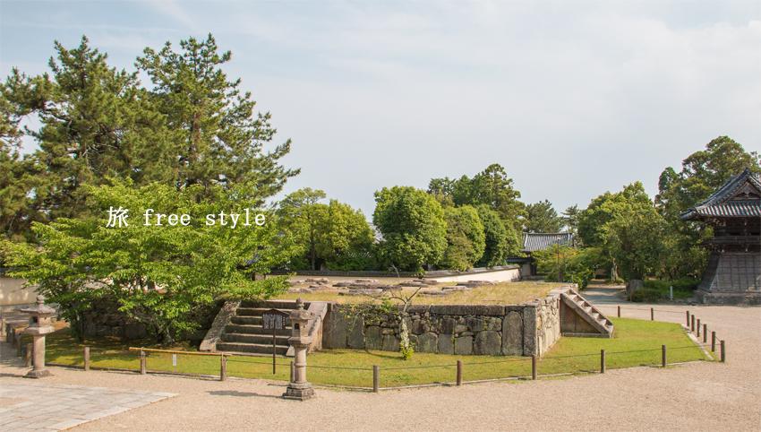 西大寺 塔跡