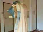 花岡伸宏作品「statue of clothes」