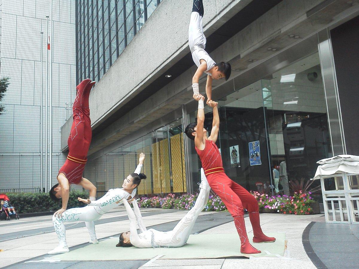 F1001350東京芸術劇場 中国雑伎団