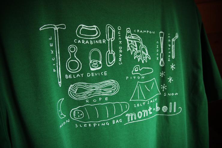 mont-bell T-shirt