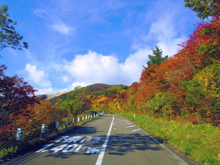 磐梯吾妻スカイライン 標高1400m