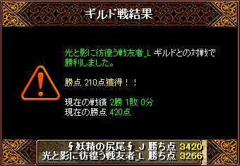 2015823妖精結果