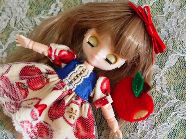 ◆オビツ11服◆白雪姫のりんごドレス◇4