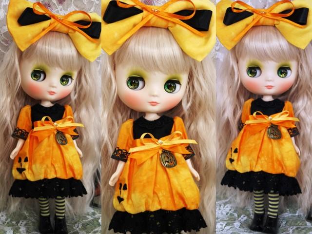 ◆ミディブライス服◆ハロウィン(*^^*)かぼちゃドレス◇2