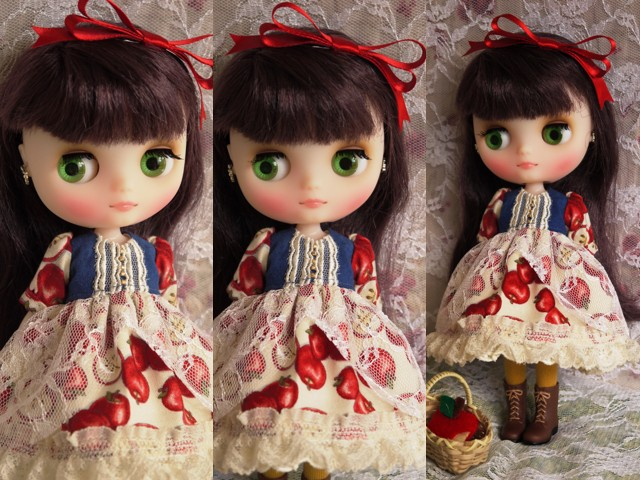 ◆ミディブライス服◆白雪姫のりんごドレス◇2
