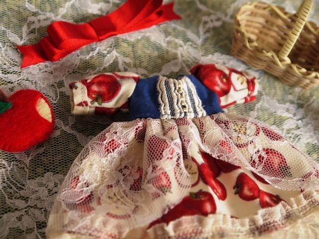 ◆ミディブライス服◆白雪姫のりんごドレス◇4