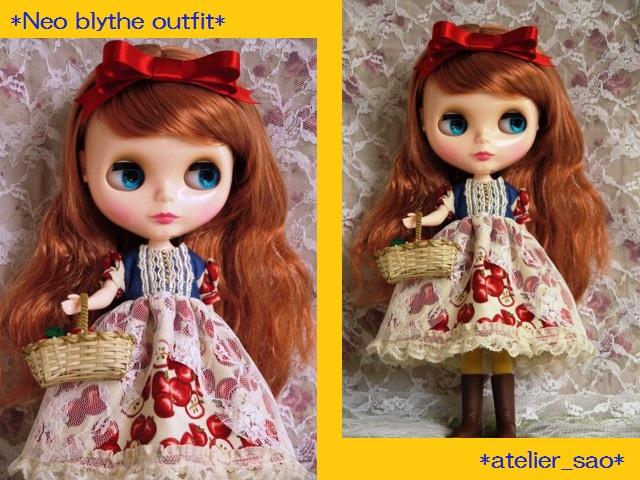 ◆ネオブライス服◆白雪姫のりんごドレス◇1