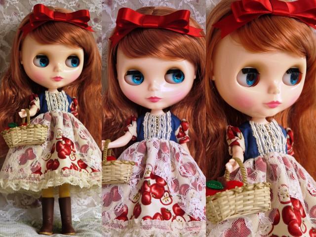 ◆ネオブライス服◆白雪姫のりんごドレス◇2