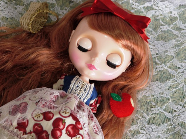◆ネオブライス服◆白雪姫のりんごドレス◇4