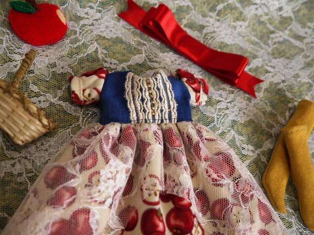 ◆ネオブライス服◆白雪姫のりんごドレス◇5