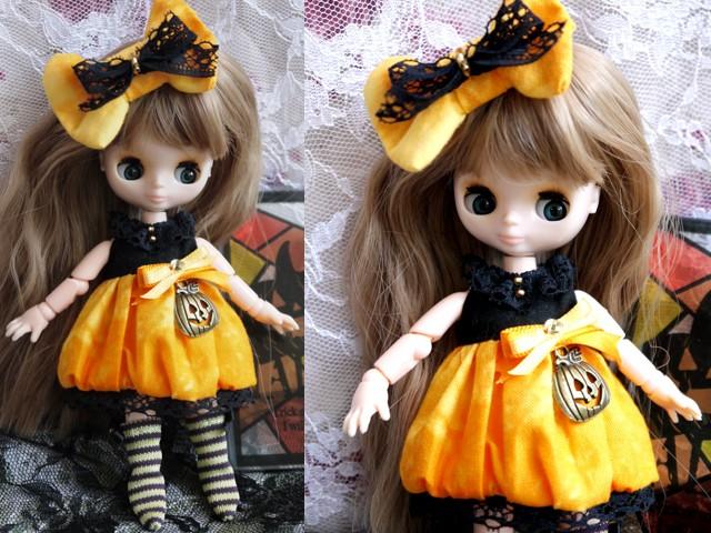 ◆オビツ11服◆ハロウィン(*^^*)かぼちゃドレス◇ 2
