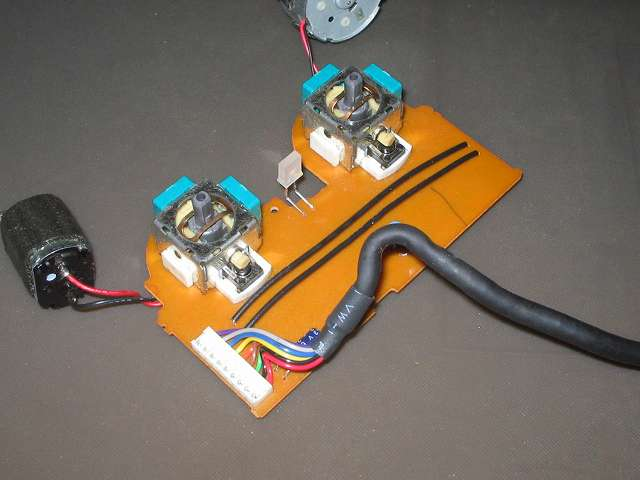 PS2 プレイステーション2 コントローラー DUALSHOCK 2 デュアルショック2 SCPH-10010 メンテナンス、クリーニング作業 スティックコントローラー周辺の汚れ・ホコリを取り除く