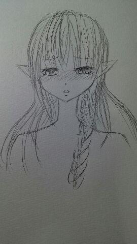 サラ(泣き顔)