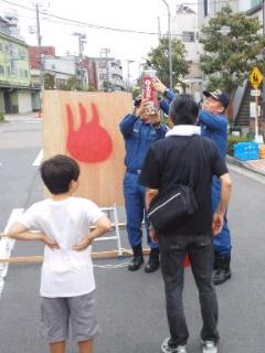 来夢震災訓練4