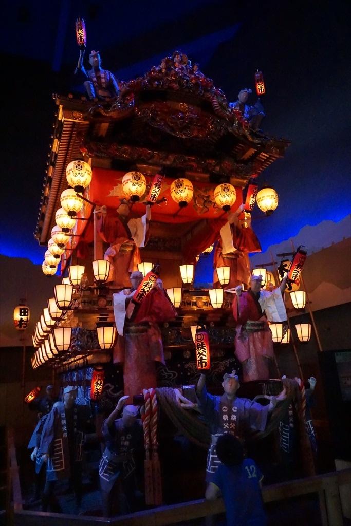笠鉾と屋台(レプリカ)_8