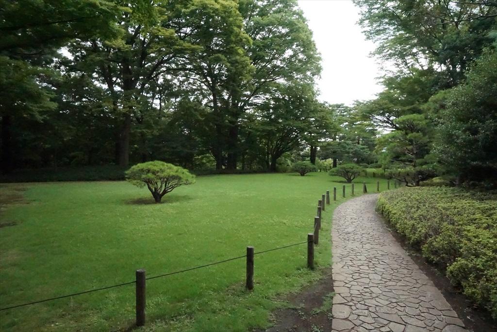 芝庭と本館_5