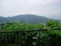 150822国道308狭路手前から生駒山を望む
