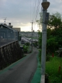 150822狭路の国道308奈良市中町。標識も変色