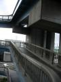 150829此花大橋へスロープを上る