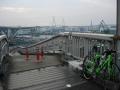 150829此花大橋からUSJ方面を望む